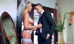 Follando anal con mi cuñada enculada fuerte antes de la boda